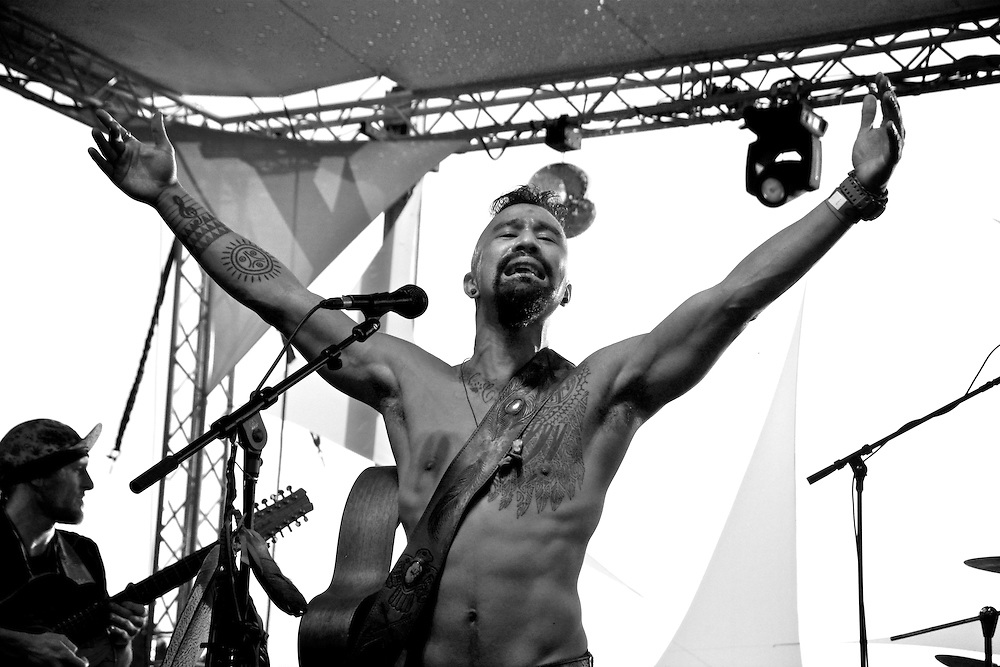 Nahko and Medicine for the People Mohawk Valley Music Festival