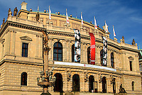 The Rudolfinum,  home of the Czech Philharmonic Orchestra, Prague, Czech Republic