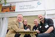 Visit Scotland Chairman Mike Cantlay at Royal Highland Show, 20.06.13