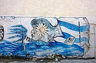 Mural in Mariel, Artemisa Province,Cuba.