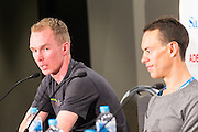 Media Conference with (R-L) Richie Porte (BMC Racing Team), , Tom-Jelte Slagter (Cannondale - Drapac Pro Cycling Team), Tour Down Under, Australia on the 14 of January 2017 ( Credit Image: © Gary Francis / ZUMA WIRE SERVICE )