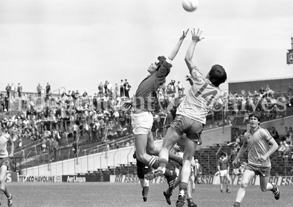 Game 3 1981 All-Ireland Football Semi-Final, 9th August: <br /> Kerry 2-19 Mayo 1-6 Picture Donal Doherty, 9/8/81. 881-293 (Part of the Independent Newspapers Ireland/NLI Collection)