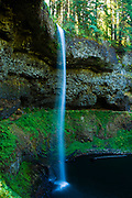 Waterfall in Silver Falls State Park, Oregon.