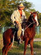 Cowboy near Bayamo, Granma, Cuba.