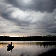 Hungry Jack Lake near the Boundary Waters Canoe Area Wilderness