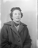 1956 Mrs D Jeffers, Auctioneer
