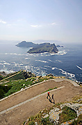 Cies Islands (Islas C&Igrave;es), a paradisiac archipelago and Natural Reserve since 1908, off the coast of Pontevedra, in Galicia, Spain. <br /> <br /> In the year 2007, the British newspaper The Guardian chose the beach of Rodas, in the island of Monteagudo, as the &quot;most beautiful beach of the world&quot;.