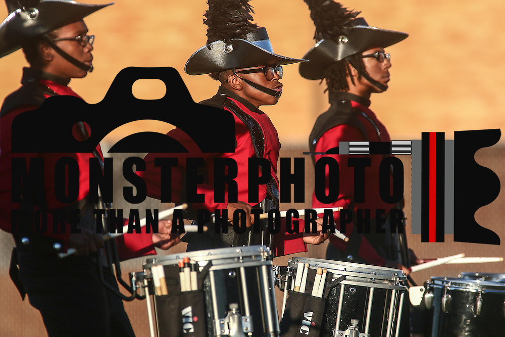 William Penn percussion line performs during a Week 9 DIAA football game between William Penn and Charter School of Wilmington Saturday, Nov. 05, 2016, at William Penn Stadium in New Castle.