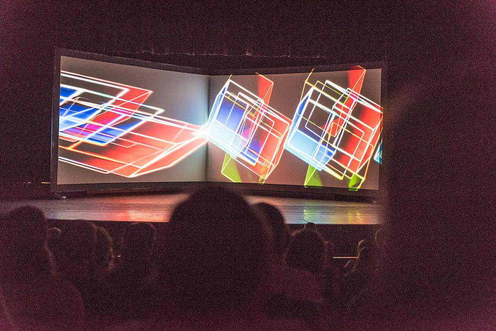 A/VISIONS 1, Salle Pierre-Mercure, Matthew Biederman & Pierce Warnecke