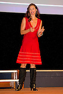 6-11-2015 - THE HAGUE - Ashley Judd delivers a speech at the Third World Conference of Women's Shelters in the World Forum in The Hague  Ashley Tyler Ciminella Judd is een Amerikaans filmactrice.  COPYRIGHT ROBIN UTRECHT
