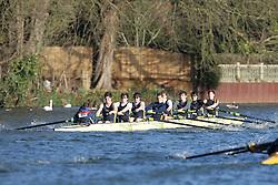 2012.02.25 Reading University Head 2012. The River Thames. Division 2. Southampton University Boat Club B IM2 8+
