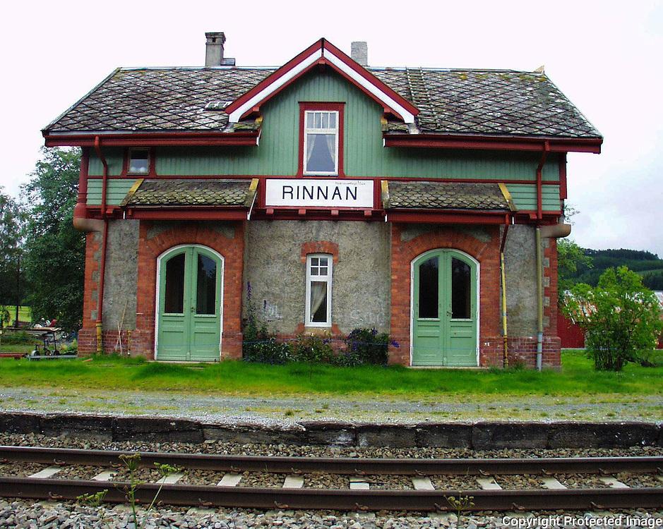 jernbanestasjon nedlagt, Rinnan i Verdal