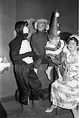 1963 - Schools Drama Festival at The Gate Theatre, Dublin.