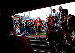 Joe Montana, Legends of Candlestick flag football game, 2014