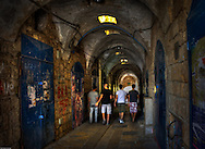 Strolling in the passages of the old city of Acre