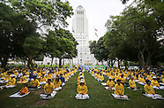 Falun Gong Rally in Los Angeles