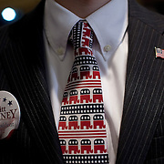 Supporters of Mitt Romney at his Caucus night gathering at the Hotel Ft. Des Moines Tuesday, January 3, 2012, in Des Moines, IA...Photo by Khue Bui