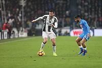 can - 28.02.2017 - Torino - Coppa Italia Tim  -  Juventus-Napoli nella  foto: Andrea Barzagli
