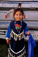 Native American girl, Cheyenne Arapaho powwow, Oklahoma