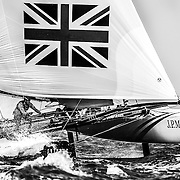 J.P. Morgan BAR Extreme Sailing Series 2014, Act 2 Muscat.<br /> &copy; J.P. Morgan BAR/Lloyd images