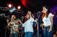 The Afro-American Project during its performance at Hootananny. The band explore and reveal Venezuela's rich legacy of African and Afro-Caribbean roots music. London, Dec. 04, 2016 (Photos/Ivan Gonzalez)
