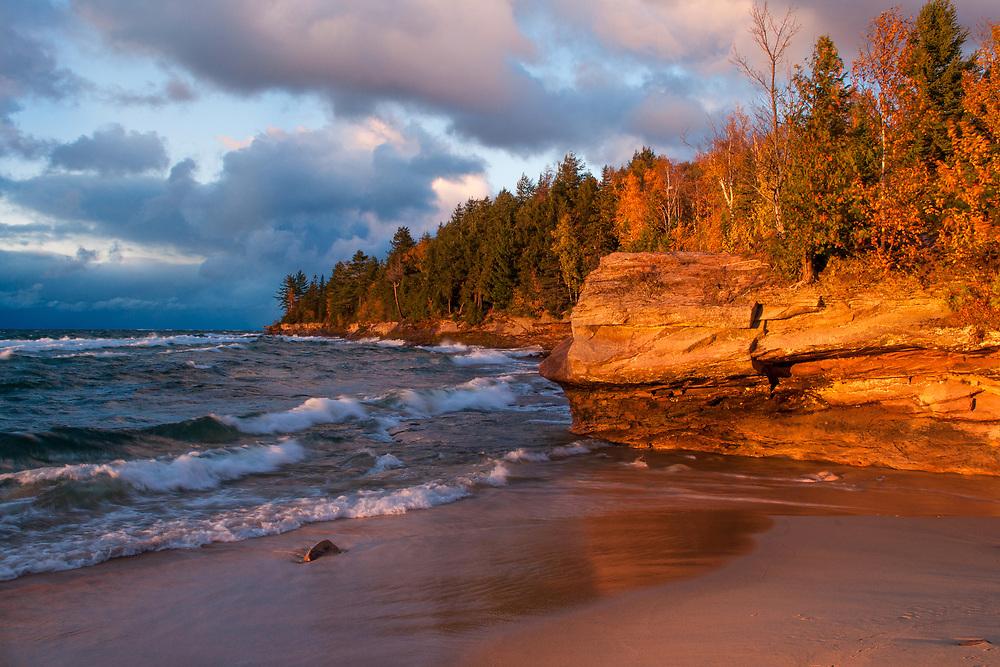 Au Train Beach, Michigan's Upper Peninsula