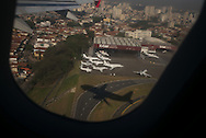 Sao Paulo, Brasil - August 23 of 2014: Congonhas airport in a saturday morning. photo: Caio Guatelli
