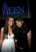 Valiesha Butterfield and Melyssa Ford at The Women in Entertainment Empowerment Network (WEEN) Signature, Fundraising series VIPink with An Exclusive Performance by Grammy Winning Super Producer/Songwriter Bryan-Michael Cox at the Boucarou Lounge on April 30. 2008.