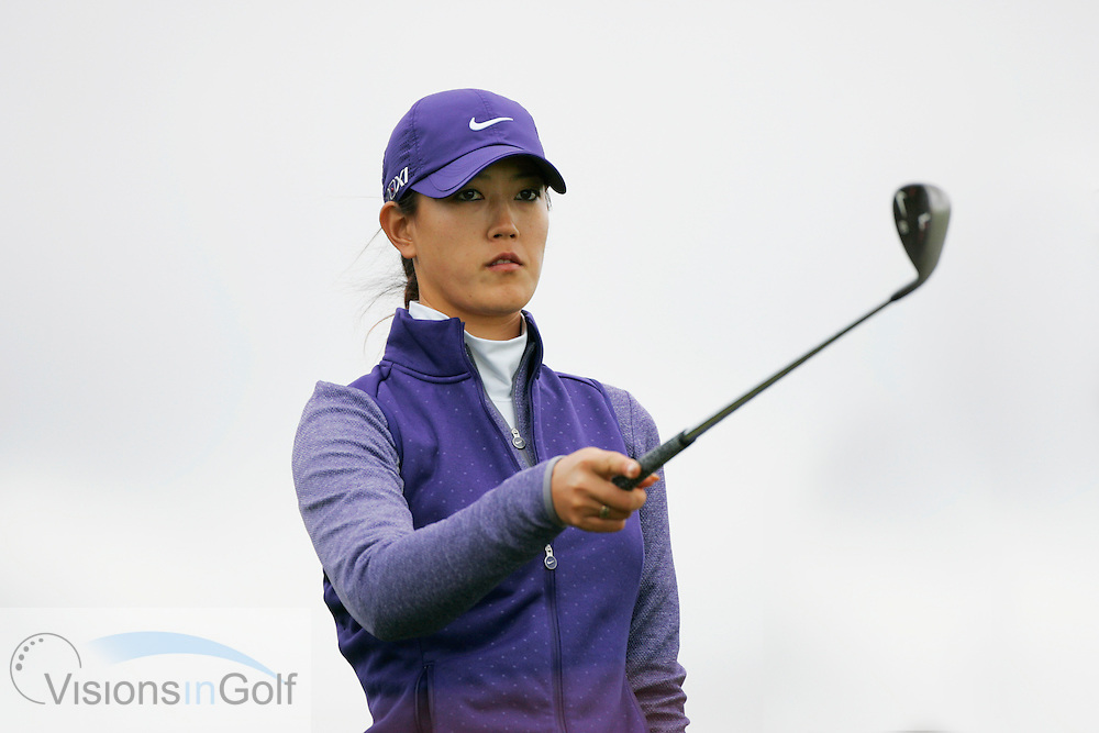 Michele Wie<br /> Ricoh Womens British Open 2012<br /> Picture Credit: Mark Newcombe  / www.visionsingolf.com