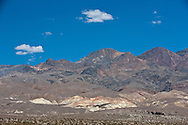 Formations of the Armagosa mountain range bordering the eastern side of Death Valley National Park, California
