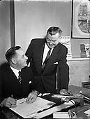 1958 Mr G.C. Draper and Mr Hudson