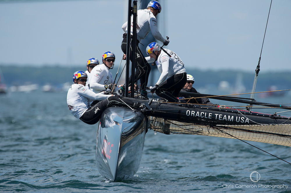 Oracle Team USA, Coutts. America;s Cup World Series Regatta in Newport, Rhode Island, USA. 28/6/2012