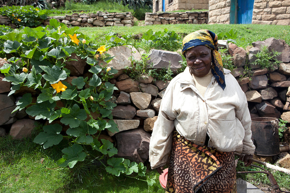 11 February 2011, Qacha's Nek, Lesotho. Ha Radiseme Village