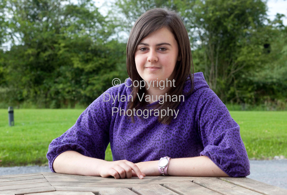 9/7//2009.Samantha Byrne from Ballybit Tullow County Carlow..Picture Dylan Vaughan