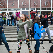 Friendship Fridays in front of Crosby Student Center. (Gonzaga University photo)