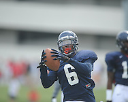 Ole Miss defensive back Cliff Coleman (6) at football practice in Oxford, Miss. on Sunday, August 4, 2013.