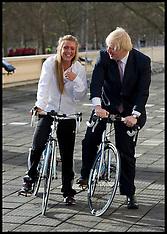 FEB 07 2013 Boris Johnson RideLondon launch
