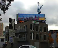 Australia and New Zealand Billboard. One of my Venice images licensed to Expedia in Australia through ImageBrief. All rights reserved