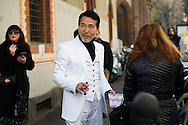 Man in a White Suit, Outside Blugirl FW2016