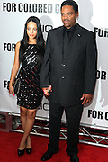 25 October 2010- New York, NY- l to r: Bianca Lawson and her Father, Richard Lawson at Tyler Perry's World Premiere of the Film 'For Colored Girls ' an Adaptation of Ntozake Shange's play ' For Colored Girls Who Have Considered Suicide When the Rainbow Is Enuf.' held at the Zeigfeld Theater on October 25, 2010 in New York City.