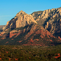 Colors and textures of Sedona, Arizona