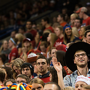 Students cheer on Gonzaga. (Photo by Gonzaga University.)