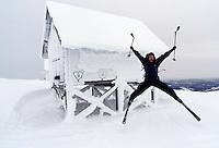 Bu i vinterlandskap, Åreskutan