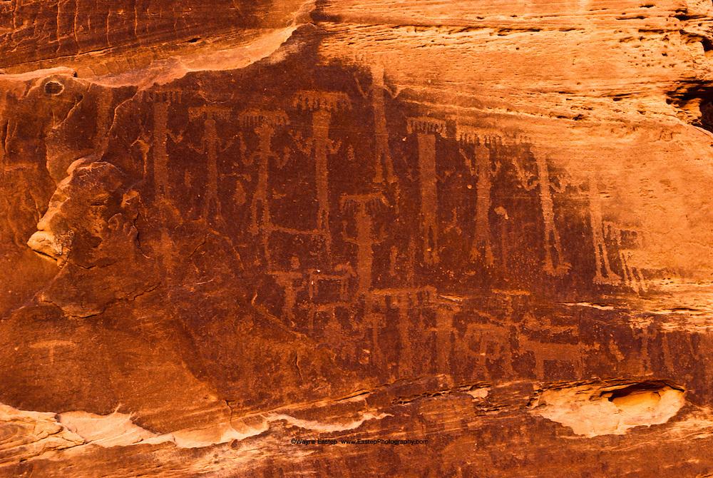 Rock Art on Jebel Burnus, Al Jawf, Saudi Arabia