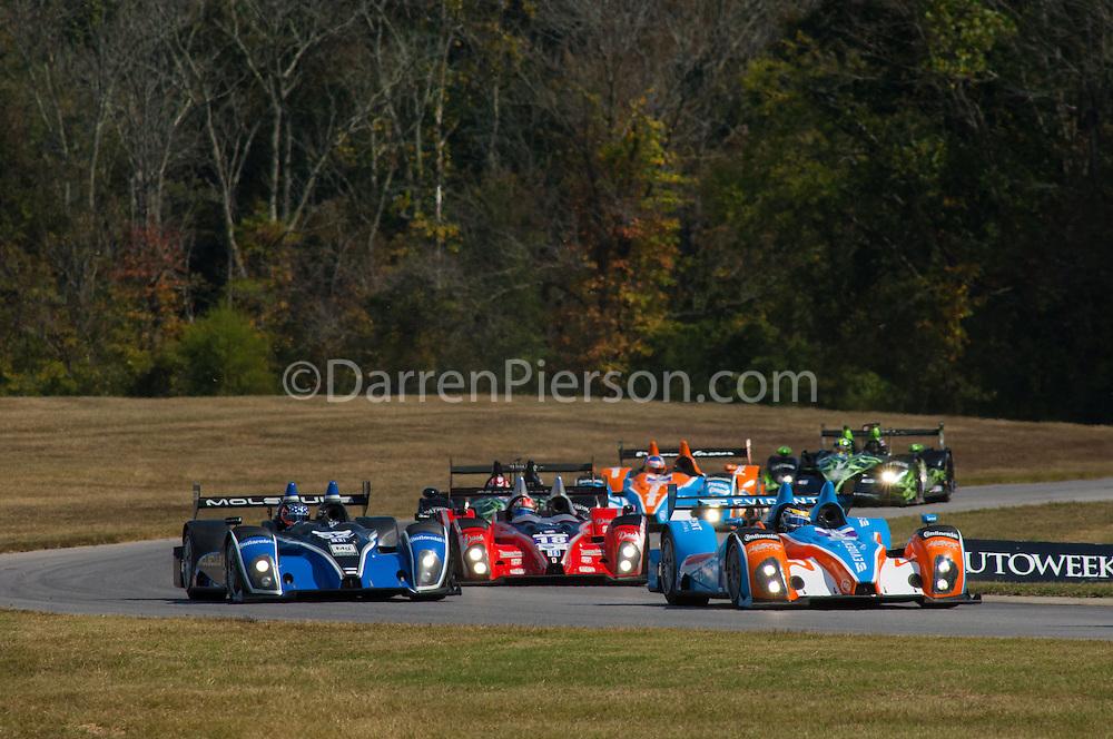 #18 Performance Tech Motorsports ORECA FLM09: Tristan Nunez, Ryan Booth