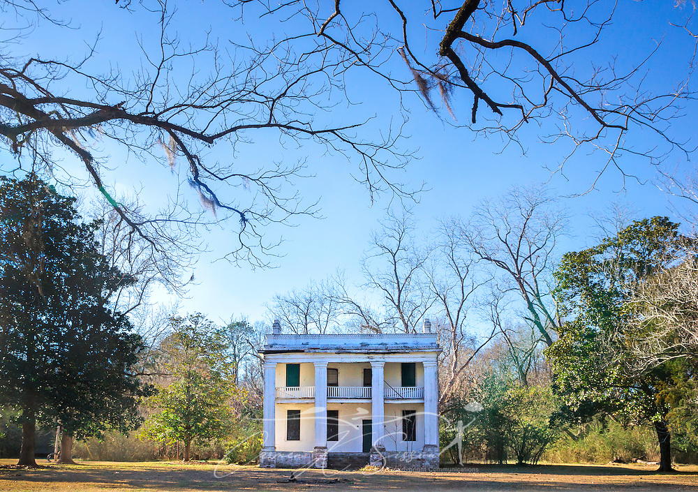 "The former slave quarters of Kirk-View Mansion are pictured, Feb. 7, 2015, at Old Cahawba Archaeological Park in Orrville, Alabama. The home was built for the Kirkptrick family but was burned down in 1935. The slave quarters were originally built behind the mansion. Cahaba, also known as ""Old Cahawba,"" was Alabama's state capital from 1819-1826 but was abandoned after the Civil War. It is now considered a ghost town. It is located in Dallas County near Selma, Alabama. (Photo by Carmen K. Sisson/Cloudybright)"