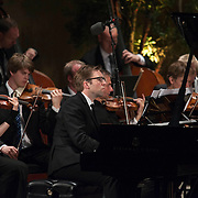 "Leif Ove Andsnes performs Bent Sørensen's Piano Concerto No. 2, ""La Mattina"" with the Norwegian Chamber Orchestra at the 66th Ojai Music Festival on June 9, 2012 in Ojai, California."