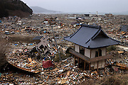 Rikuzen Takada was completely distroyed by tsunami on March 11th 2011..One of the zen temples that were distroyed