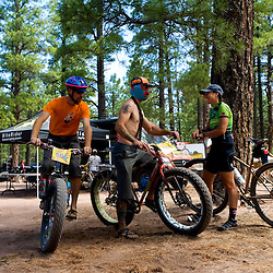 The Pugzillaz crew from Glenwood Springs, Colo. rode their trademark super-fat-tire Surly Pugsleys for the race.