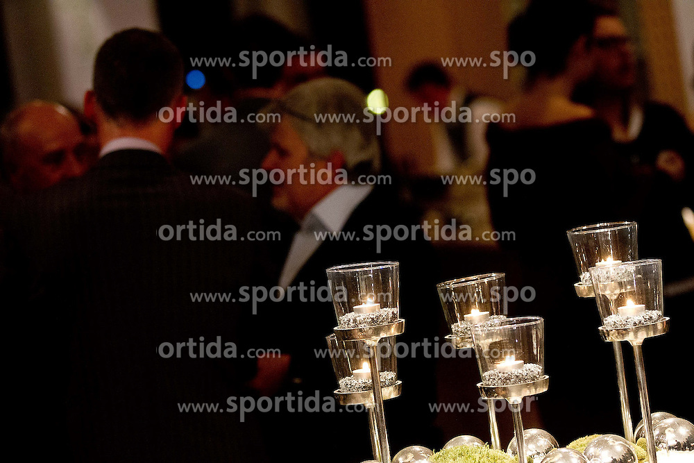 during Traditional Gala Night Event of NZS (Football Association of Slovenia), on December 19, 2011 at Kongresni center, Brdo pro Kranju, Slovenia. (Photo By Vid Ponikvar / Sportida.com)